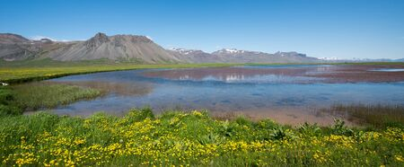icelandic: Icelandic landscape Stock Photo