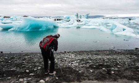 lagoon: Jokulsarlon, glacer lagoon, Iceland