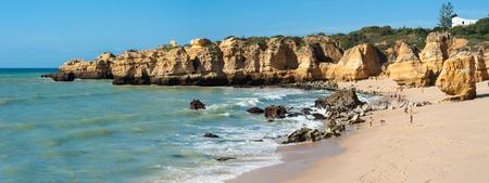 praia: Praia de Sao Rafael, Algarve, Portugal Stock Photo