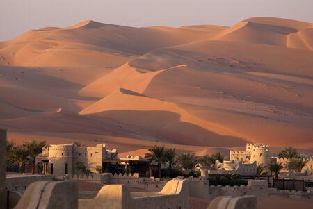 Desert sand dune Stock Photo