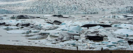 lagoon: Fjallsarlon Glacier Lagoon, Iceland