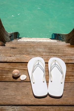flip flops: Flip flops Stock Photo