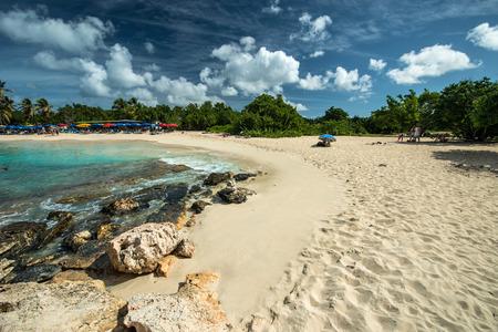 mullet: Mullet bay, St. Maarten