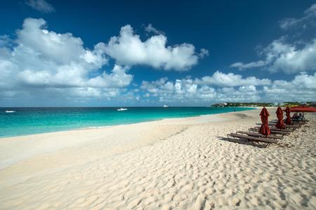anguilla: Meads bay, Anguilla Island Stock Photo