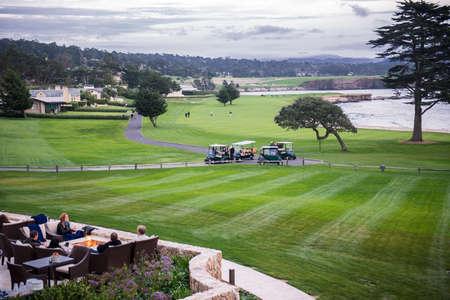 monterey: Monterey golf course