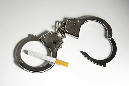 cigarette addiction and the harm.