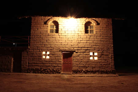 uyuni: Salar salt uyuni Bolivia night hotel