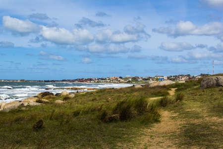 beach in Punta Del Diablo - Uruguay