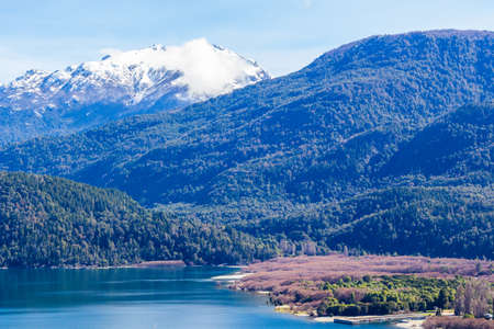 A lake in park in Lago Puelo near Bariloche - Argentina