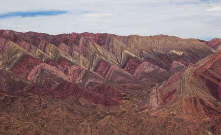 Hornocal, Mountain of fourteen colors, Quebrada de Humahuaca, Northern Argentina