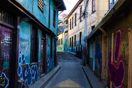 Street Arts - Graffiti in Valparaíso Chile