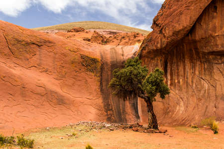 Oasis in Inca Cave close to Humahuaca in Jujuy Province, north of Argentina