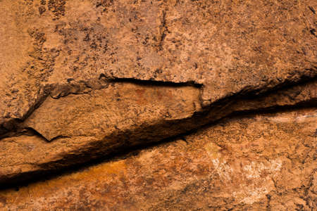 Rock Paintings in Inca Cave clsoe to Humahuaca in Jujuy Province, north of Argentina Imagens