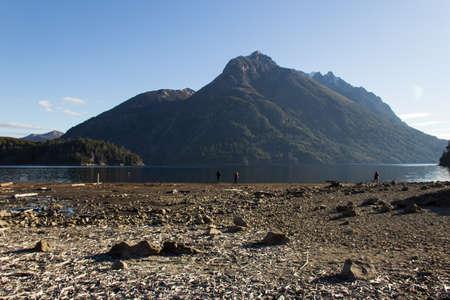Beautiful lake in the Circuito Chico in Bariloche - Argentina