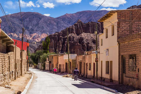 Tilcara City in Jujuy Province - North of Argentina Publikacyjne