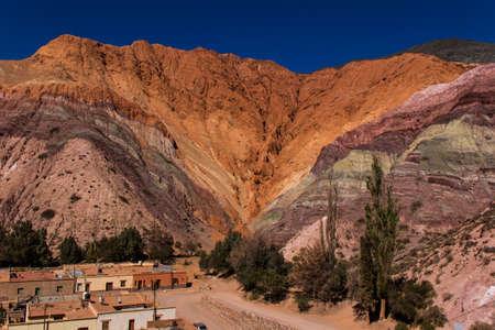 Cerro de los siete colores - Purmamarca in Jujuy Province - Argentina