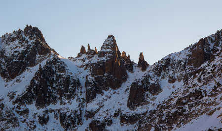 Frey Hike Mountain Refuge - with snow, in Bariloche - Argentina, Patagonia