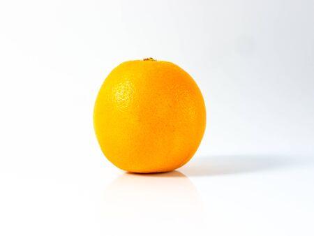 Isolated fresh red bloody orange.