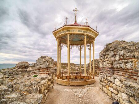 Basilica of Chersonesos in Sevastopol.