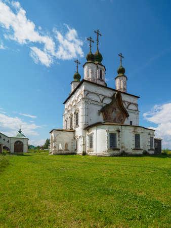 Orthodox church in Veliky Ustyug.