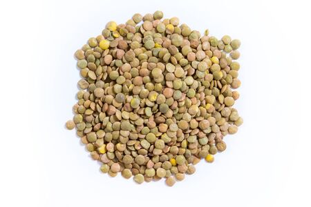 Lentil food isolated Stock Photo