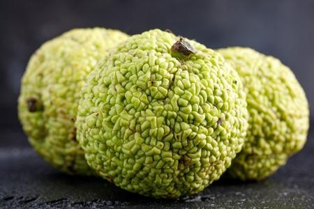 hedgeapple: Adams apple on a black background. Macro.