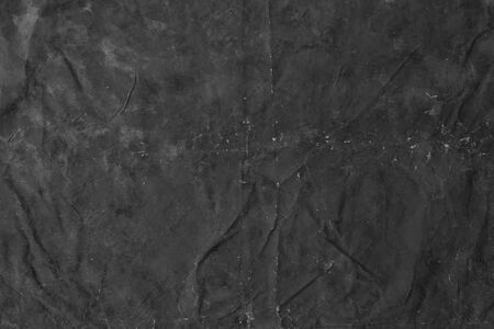 Grunge flax fabric texture for background, black color. Abstract black fabric texture background or dark gray fabric texture seamless background.