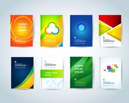 book covers icons vector illustration