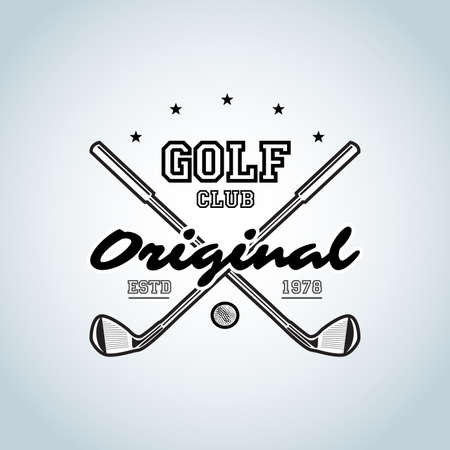 Golf Clubs t-shirt. Golf club vector for golf tournaments, organizations and country clubs. vector illustrator.
