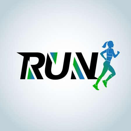Run club template. design template