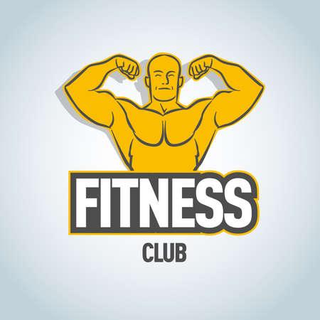 Fitness design template.