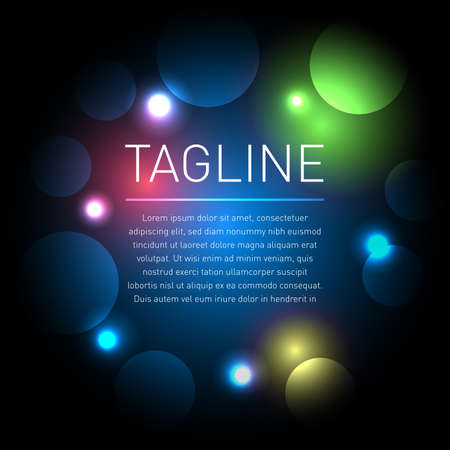 Abstract light background. Abstract background with space for text. Isolated vector illustration.