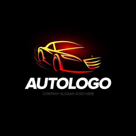 Auto logo, Auto cars logo, Car logo, Speed, automotive, auto services logo, Car care logo Ilustrace