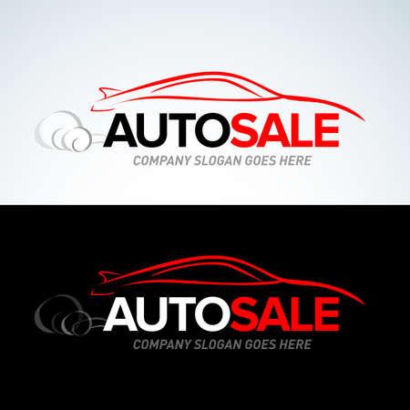 Auto car service and repair, vector set.