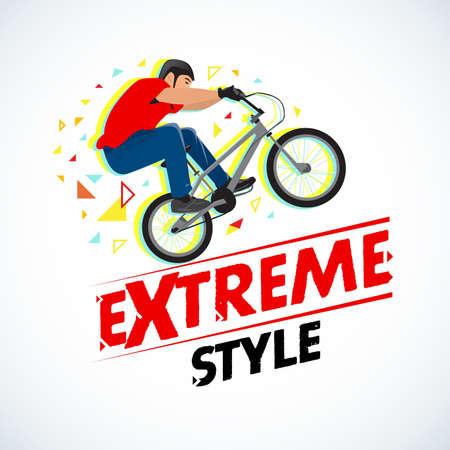Extreme vintage t-shirt design
