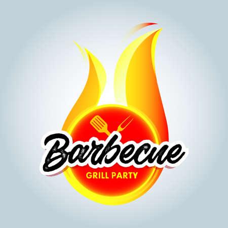 Barbecue design icon Reklamní fotografie - 127484157