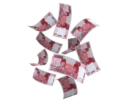 Indonesian Money 100.000 Rupiah Stock Photo
