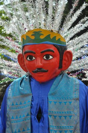 jakarta: Ondel-ondel, giant puppet from Jakarta Indonesia