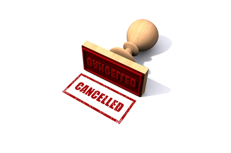 cancelled stamp: Cancelled Stamp Stock Photo