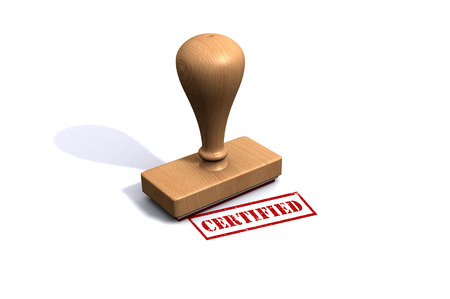 certified stamp: Certified Stamp