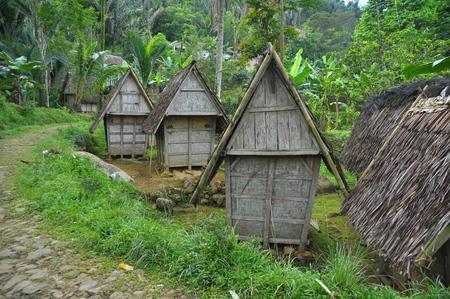 hospedaje: Traditional rice barn in Indonesia