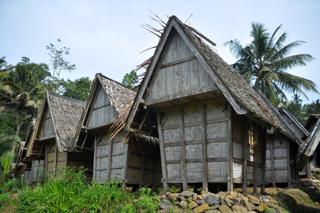 Traditional rice barn in Indonesia