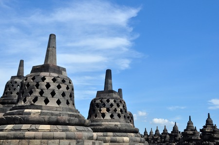 Borobudur Temple - Indonesia Stock Photo
