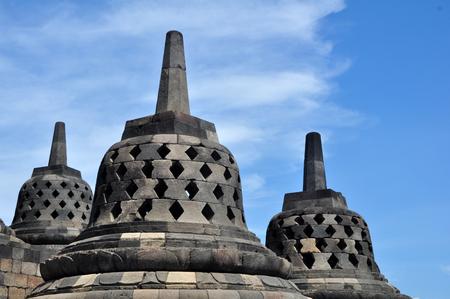 Borobudur Temple - Indonesia Stock Photo