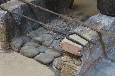 brazier: stone brazier
