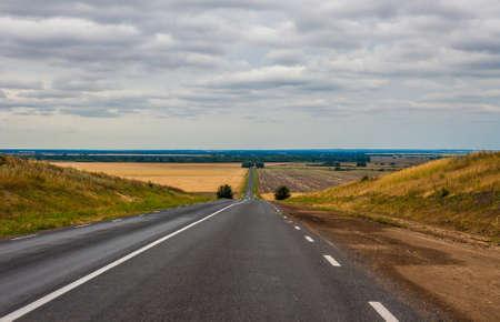 ravine: road through the ravine