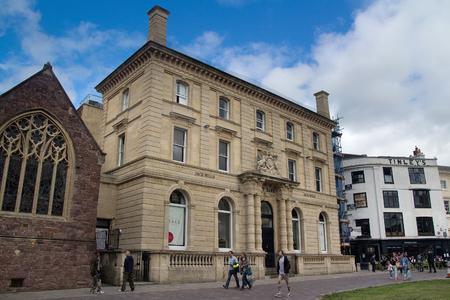 EXETER, UK, 11 July 2016: building City Bank Jack Wills. Exeter. Devon. UK