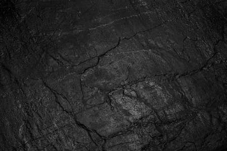 black stone on a black background Standard-Bild