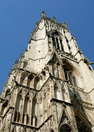 YORK MINSTER YORK YORKSHIRE ENGLAND UK 免版税图像