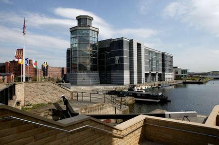 ROYAL ARMOURIES MUSEUM CLARENCE DOCK LEEDS YORKSHIRE ENGLAND Redakční